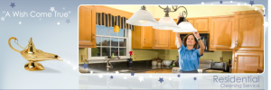 The Cleaning Genie provides residential cleaning services to Toledo Ohio home owners